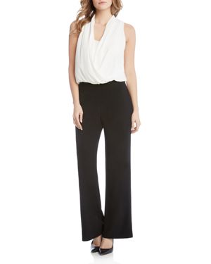 Karen Kane Color-Block Jumpsuit