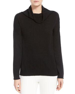 Halston Heritage Cowl-Neck Sweater