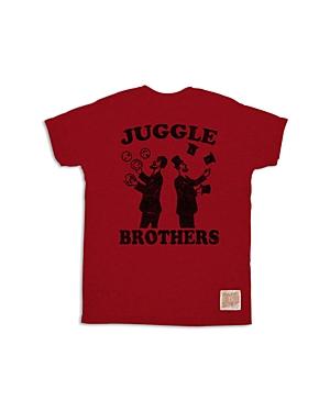 Retro Brand Boys Greatest Showman Juggle Brothers Tee Little Kid  100 Exclusive