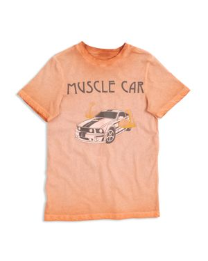 Butter Boys' Mineral-Wash Muscle Car Tee - Big Kid thumbnail