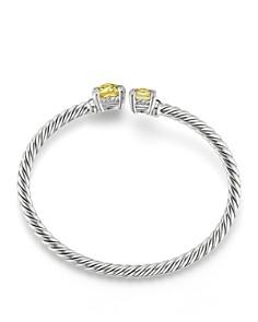 David Yurman - Châtelaine Bypass Bracelet with Lemon Citrine & Diamonds