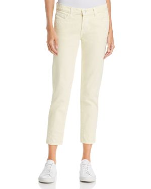 J Brand Sadey Slim-Straight Jeans in Butter 2742834