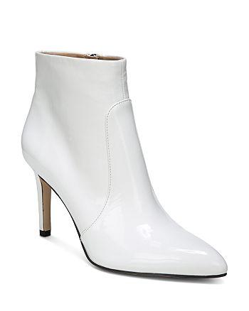 Sam Edelman - Women's Olette Patent Leather High-Heel Booties