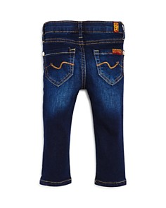 7 For All Mankind - Unisex Dark-Wash Skinny Jeans - Baby