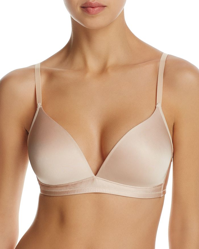Hanro - Satin Deluxe Soft Cup Wireless T-Shirt Bra