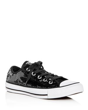 Converse Women's Chuck Taylor All Star Sequin Lace Up Sneakers 2731840