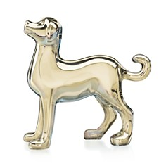 Baccarat Zodiac Dog Gold - Bloomingdale's_0