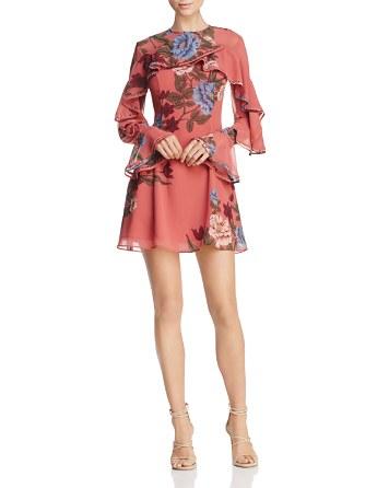 $Keepsake Night Lights Floral Print Dress - Bloomingdale's