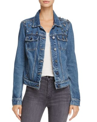 NAVEEN EMBELLISHED DENIM JACKET