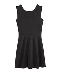 AQUA Girls' Textured Sleeveless Dress, Big Kid - 100% Exclusive - Bloomingdale's_0