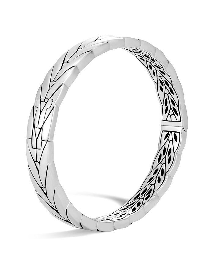 JOHN HARDY - Sterling Silver Modern Chain Hinged Bangle