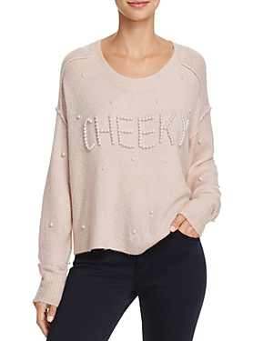 Wildfox Cherie Embellished Sweater