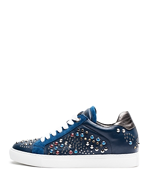 Zadig & Voltaire Women's Jungle Clous Leather Sneakers