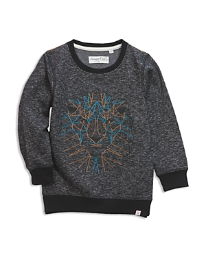 Sovereign Code Boys Embroidered Lion Sweatshirt  Little Kid Big Kid