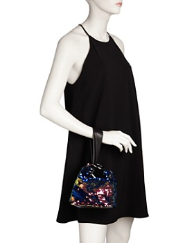 Nasty Gal - Inner Circle Sequin Mini Bag