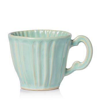 VIETRI - Incanto Stone Aqua Stripe Mug