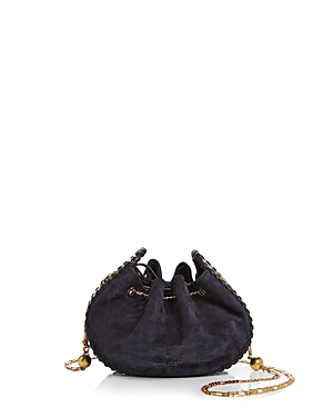 Marc Jacobs Sway Suede & Embossed Leather Crossbody