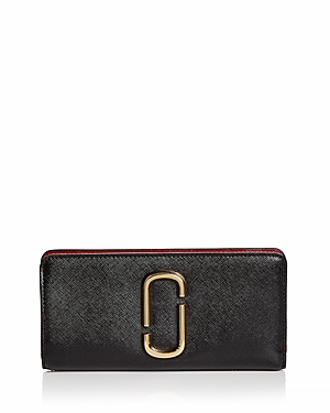 Marc Jacobs Snapshot Open Face Leather Wallet