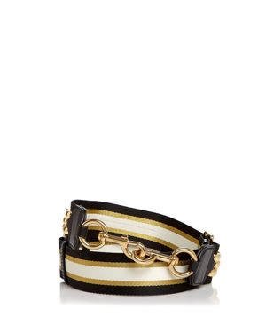 Marc Jacobs Chain Detail Webbing Handbag Strap