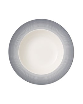 Villeroy & Boch - Colorful Life Cosy Grey Rim Soup Bowl