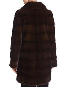 Maximilian Furs - Nafa Mink Fur Coat - 100% Exclusive
