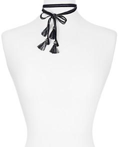"""Chan Luu - Tassel Necktie, 60"""""""