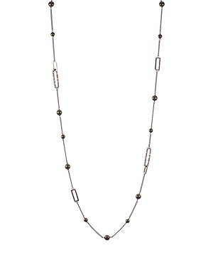 Alexis Bittar Swarovski Crystal Encrusted Link Necklace, 34