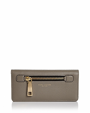 Marc Jacobs Gotham Open Face Leather Wallet