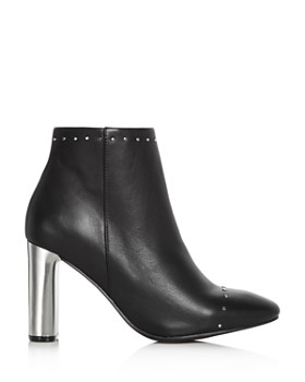 Sol Sana - Women's Alicia Leather Embellished Booties