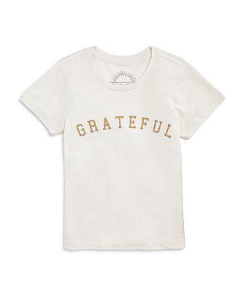 Spiritual Gangster - Girls' Grateful Tee - Big Kid