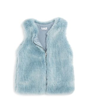 Splendid Girls' Faux-Fur Vest - Little Kid