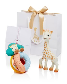 Sophie la Girafe - Sophisticated Set with Sophie la Girafe & Rattle - Ages 0+