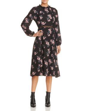 June & Hudson Floral Print Prairie Dress - 100% Exclusive