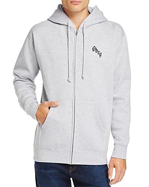 Obey Reaper's Delight Zip Hooded Sweatshirt - 100% Exclusive
