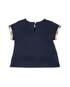 Burberry - Girls' Gisselle Pleated Tee - Baby