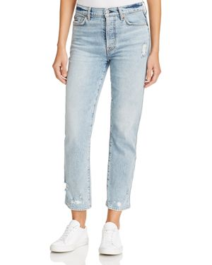 7 For All Mankind Edie Straight Jeans in Mineral Desert Springs 2759143