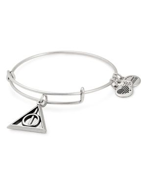 Harry Potter(Tm) Deathly Hallows(Tm) Adjustable Wire Bangle, Silver