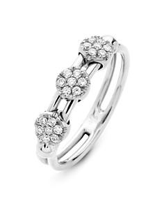 Hulchi Belluni - 18K White Gold Tresore Diamond