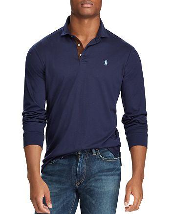 7b3820b6 Polo Ralph Lauren Classic Fit Soft-Touch Long Sleeve Polo Shirt ...