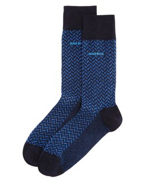 Hugo Boss Patterned Socks