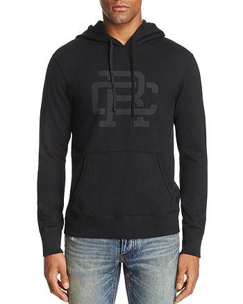 REIGNING CHAMP - Lockup Logo Hooded Sweatshirt