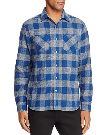 Flag & Anthem - Plaid Flannel Button-Down Shirt - 100% Exclusive