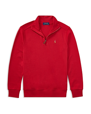 Ralph Lauren Childrenswear Boys' Quarter-Zip Sweater - Big Kid