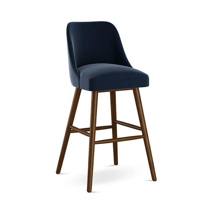 Sparrow & Wren - Anita Velvet Bar Stool - 100% Exclusive