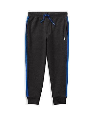 Ralph Lauren Childrenswear Boys' Athletic-Stripe Joggers - Little Kid