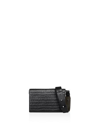 ALLSAINTS - Keel Matte Leather Box Bag
