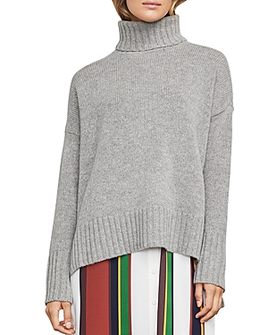 Bcbgmaxazria Steffe High/Low Turtleneck Sweater