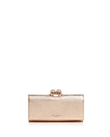 7cb7b2b4a67b8 Ted Baker - Pamelia Bobble Matinee Leather Wallet