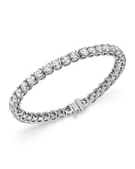 Bloomingdale's - Diamond Tennis Bracelet in 14K White Gold, 12.0 ct. t.w. - 100% Exclusive