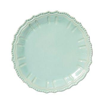 VIETRI - Incanto Stone Aqua Baroque Round Platter